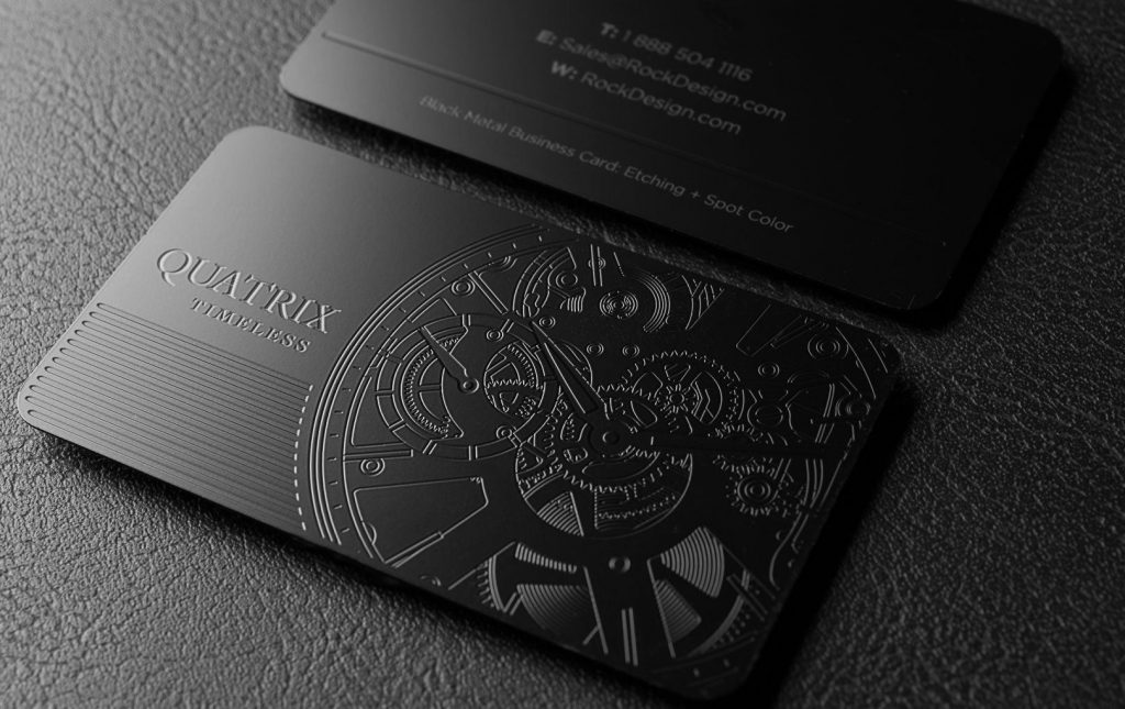 Metal Business Card